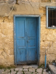 Door to Old Olive Press --  Daoud