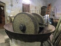 Olive Press, olives crushed