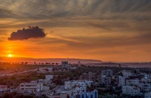 High Dynamic Range Sunset